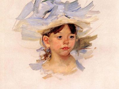 CMA 006 / Mary CASSATT / Sketch Of Ellen