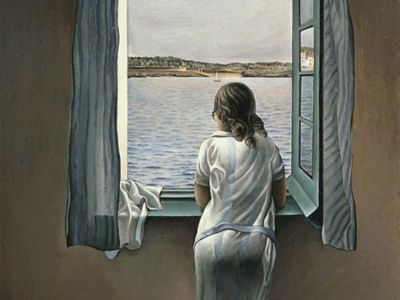 DAS 016 / Salvador DALI / Woman At The Window