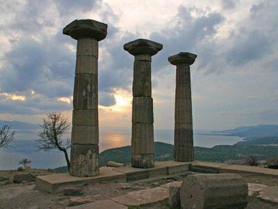 ABD 128 / Abdullah BOZDAŞ / Athena Tapınağı, Assos