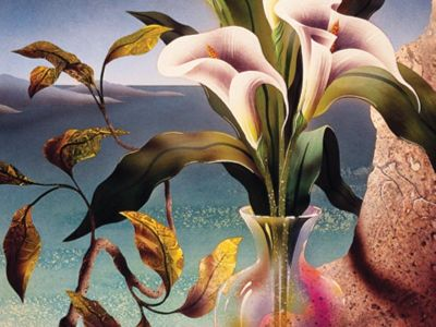 ART 115 / Anonim / Vazoda Çiçekler