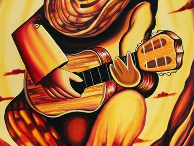 ART 396 / Anonim / Gitar Çalan Adam