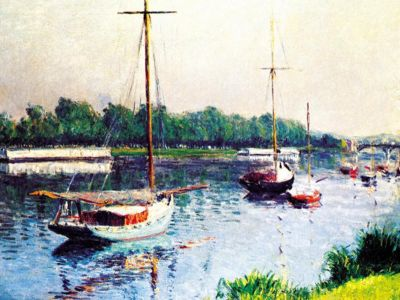 CGU 002 / Gustave CAILLEBOTTE / Argenteuil Havzası