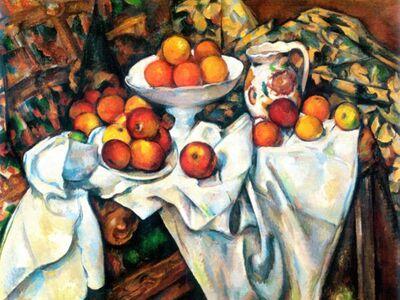 CPA 012 / Paul CEZANNE / Elmalar ve Portakallar