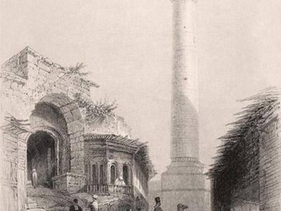 GRV 145 / William Henry BARTLETT / Ulu Camii, Hatay
