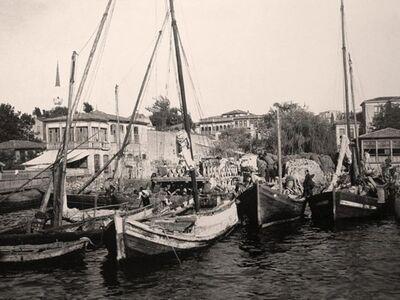 IST 021 / Anonim / Beşiktaş Saman İskelesi, 1900