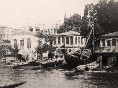 IST 022 / Anonim / Beşiktaş Waterfront, 1870
