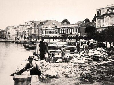 IST 027 / Anonim / Büyükdere Sahili, 1875