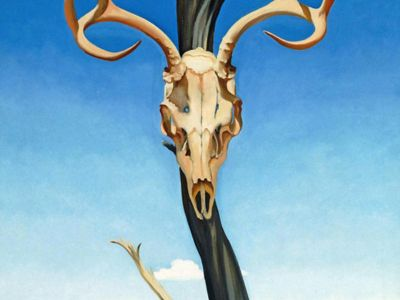 KGE 005 / Georgıa O'Keeffe / Deers Skull With Pedernal