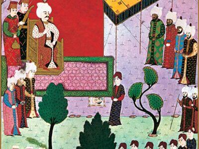 MHB 003 / Mehmed BEY / Yavuz Sultan Selim'e Kansu Gavri'nin Kesik Başının Getirilmesi