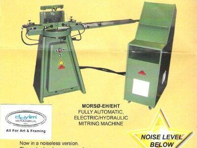 Morso eh sessiz elektronik giyotin makinası
