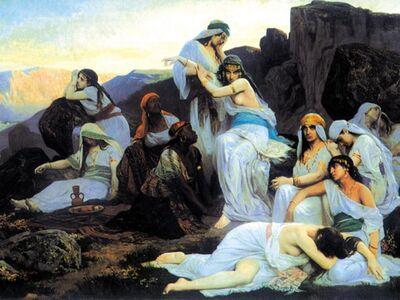 PED 002 / Edouard Debat PONSAN / Jepidah'ın Kızı 1876