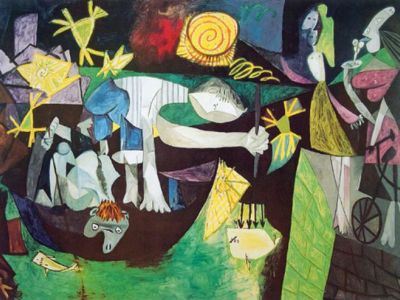 PPA 003 / Pablo PICASSO / Night Fishing At Antibes