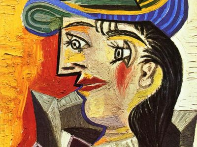 PPA 007 / Pablo PICASSO / Woman With A Blue Hat